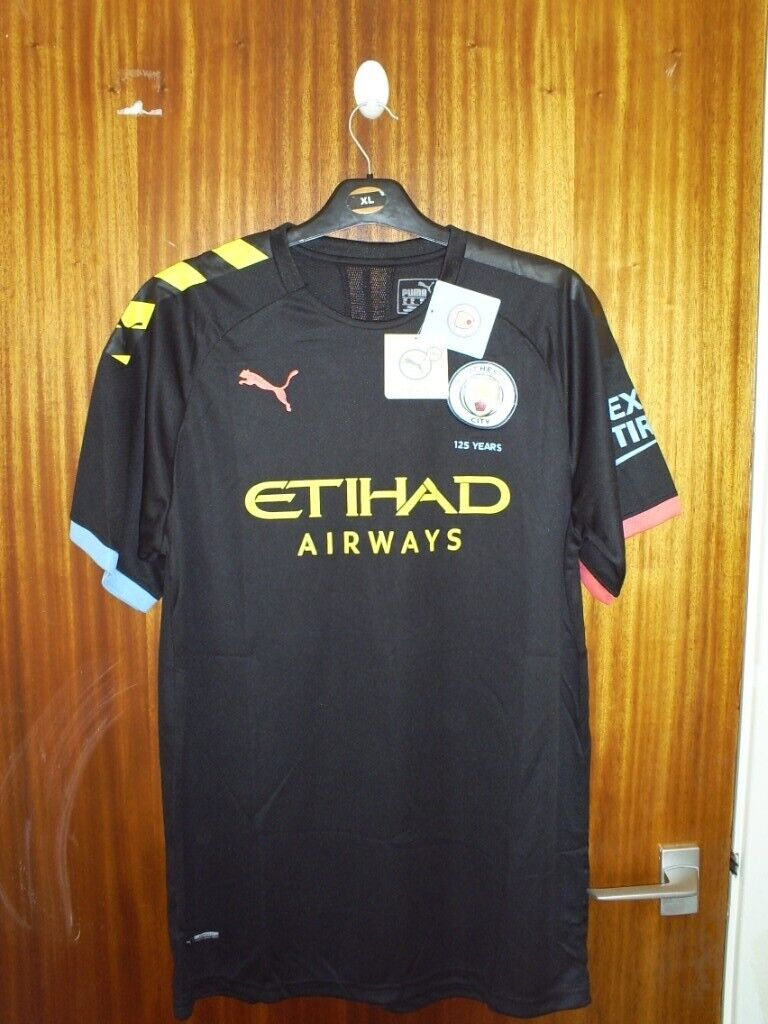 huge discount 9b8dd dce0c Manchester City away shirt 2019/20 as new with tags | in Abergele, Conwy |  Gumtree