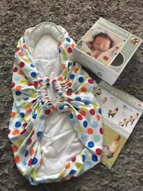 Snugglebundl baby carrier, blanket