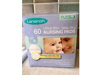 60 Lansinoh Disposable Nursing Pads