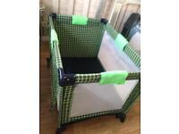 Travel cot Bed