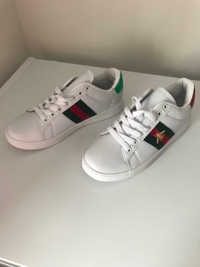 bba1233c1d7 Men or women s unisex Gucci trainers - UK 5