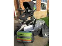 Mamas & Papas Skate Combination Pram Pushchair and lots of accessories