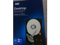 Western Digital Blue 2Tb 3.5 internal SATA Hard Drive