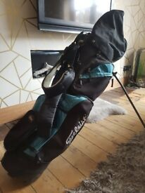Titleist Golf Bag & full set of Clubs with Driver. Good condition