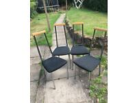 4 Dinning table chair without table