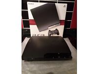 PlayStation 3 120 gb with 9 games