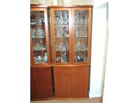 Skovby display cabinets