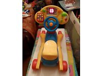 Vtech Vtech Baby Grow & Go Ride On - like new in box.
