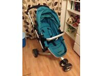 *Reduced* Pram/Stroller - Suitable from birth, multi position seat unit