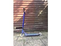 Blue flavour awakening stunt scooter