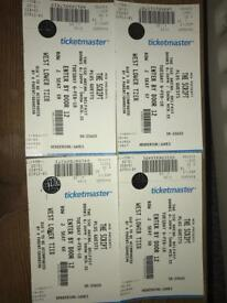 2x The Script plus special guests seated tickets, Belfast SSE arena 6th February