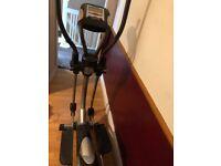 Kettler cross trainer and bike, £25 each