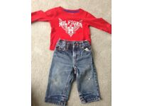 Tommy Hilfiger outfit 6-9 months great condition