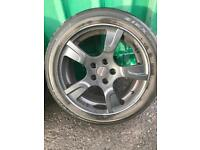 Vw t5 sportline alloy wheels and tyres