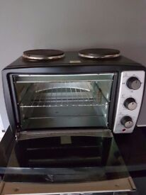 Counter top electric oven & hob