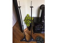 Height Adjustable Stands for Home Theater Speaker surround sound brand new