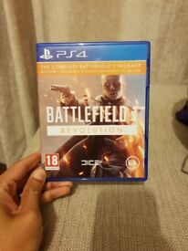 BATTLEFIELD 1 REVOLUTION. Realised the game is too violent and difficult to play. Want to sell ASAP.
