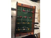 Small table football