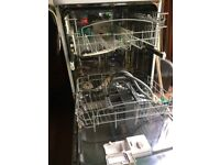 Hotpoint dishwasher inc water pipe & cutlery tray