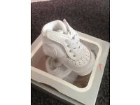 Baby Air Force trainers