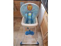 Graco baby high chair folding children child