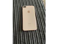 iPhone 8 Plus rose gold excellent condition