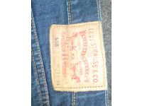 Used Levi 508 blue denim jeans