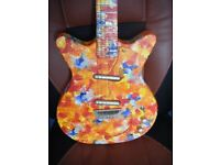 DANELECTRO DC 59 PSYCHEDELIC GUITAR-EXCELLENT CONDITION-POSTAGE MAY BE POSSIBLE-OFFERS