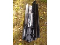 (1 DAY ONLY) 'Recyfix' 1m POLYPROPYLENE & GALVANISED STEEL CHANNEL DRAINAGE +GRID (+extras channels)