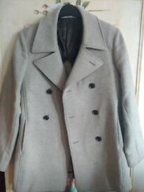 Reiss wool and cashmere coat