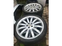 22'' Range Rover alloys