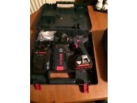 Boschhammer Cordless drill SDS 36 Volt, 2 Batteries, Charger Case Complete latest model 07476970860