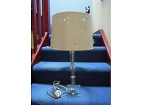 Beautiful and Unusual Laura Ashley Lamp and Base with Butterflies