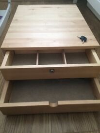 IKEA KOMPLEMENT jewellery drawer compatible with PAX wardrobes