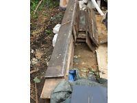 """Victorian Reclaimed Pine Floorboards 1/2"""" X 81/2"""" X75m"""
