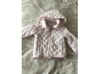 I Do girls baby jacket