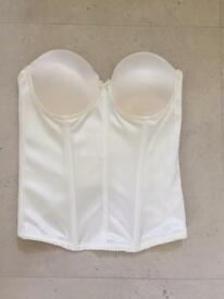 Strapless bra bodice set of three in nearly new condition