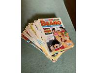 Vintage Beano Comics Joblot 50x