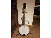5 string Banjo open back