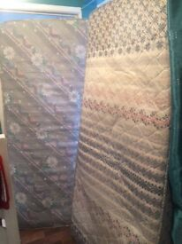 Two mattresses for sale