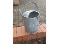 Large vintage watering can