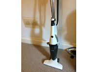 Free lightweight bagless vaccuum, semi-broken, but with duct tape, still works
