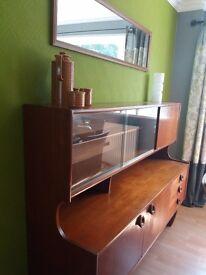 Retro display cabinet needing a little tlc..need quick sale hence price of £30 ono