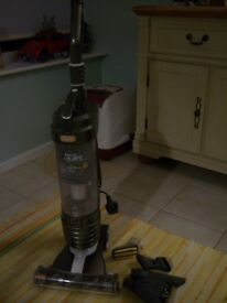 Vax upright bagless vaccum cleaner with accessories