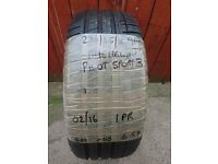235/45/18 Michelin Pilot sport 3 Tyre with 6-7-6 tread remaining