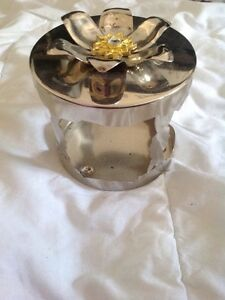 2 bath and body works candle holders