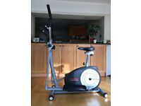 York Fitness XC530 2-in1 Elliptical Cross Trainer/Exercise Cycle