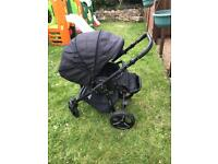 Venicci buggy with rain cover and footmuff