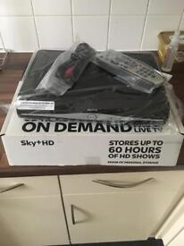 Brand new Sky HD box with all accessories