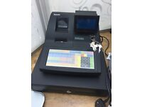 Sam4s NR-500 series till cash register